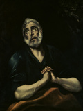 The Repentant Peter Posters by  El Greco