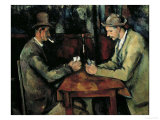 The Card Players Giclee Print by Paul Cézanne