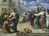 Christ Healing the Blind Posters by  El Greco