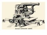 Mayall's Revolving Cannon Print