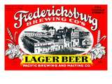 Fredericksburg Brewing Co.'s Lager Beer Poster