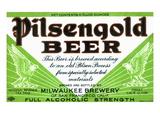 Pilsengold Beer Prints