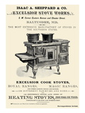Isaac A. Sheppard and Co. Excelsior Stove Works Posters