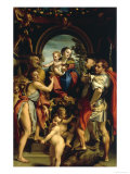 Madonna and Saint George Posters by  Correggio