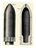Exploding Artillery Shell for Breech-Loaders Posters