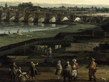 View of Dresden Poster by  Canaletto