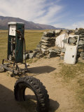 Gas Pump in Bayan-Ulgii, Mongolia Photographic Print by David Edwards