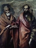 Saints Peter and Paul Poster by  El Greco