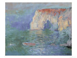 The Manneporte at Etretat Giclee Print by Claude Monet