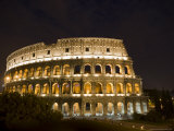 The Colosseum at Night Photographic Print by Stephen Alvarez