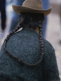 Woman with Braids and Hat Photographic Print by Mattias Klum