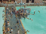 Jones Beach State Park Bathing Pool Photographic Print by B. Anthony Stewart
