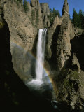 The Yellowstone River Plunges Over the Rocks Creating Tower Falls Photographic Print by Tom Murphy