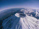 Aerial View of Mount Fuji, a 12,388-Foot Active Volcano Photographic Print by Karen Kasmauski