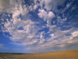 Cumulus Clouds Boiling Over a Wyoming Prairie in Late Summer Photographic Print by John Eastcott & Yva Momatiuk