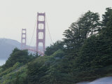 View of the Golden Gate Bridge From San Francisco Photographic Print by Rich Reid