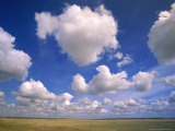Cumulus Clouds Boiling Over a Saskatchewan Prairie in Summer Photographic Print by John Eastcott & Yva Momatiuk