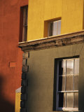 Exterior of a Brightly Painted Building in Dublin, Ireland Photographic Print by Gina Martin