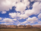 Cumulous Clouds Over the Vermillion Cliffs Photographic Print by John Eastcott & Yva Momatiuk