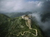 Aerial View of La Citadelle Laferriere in Haiti Photographic Print by James P. Blair