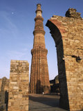 Qutab Minar Tower, Built in the 13Th Century Photographic Print by Gordon Wiltsie