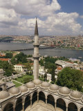 View From Istanbul's Suleymaniye Mosque Across the Golden Horn Photographic Print by Richard Nowitz
