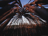 Shelter Made Out of Sticks by the Himba Tribespeople in Namibia Photographic Print by Joy Tessman