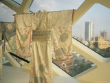 Kimonos Hang From a Skylight As Part of an Exhibit Photographic Print by  xPacifica