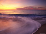 Sunset at Race Point Beach in Provincetown Photographic Print by Michael Melford