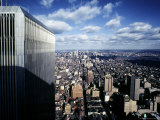 Manhattan Skyline As Seen From the World Trade Center Photographic Print by Rex Stucky
