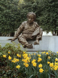 Bronze Statue of Albert Einstein Photographic Print by Rex Stucky