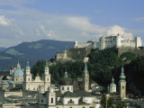 View Out over Salzburg, Austria Photographic Print by Taylor S. Kennedy