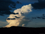 Large Cloud Forming in a Weather Cell Before a Rain Photographic Print by Randy Olson