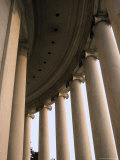 Columns Surround the Jefferson Statue at the Jefferson Memorial Photographic Print by Rex Stucky