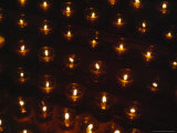 Votive Candles Send the Prayers of the Faithful Towards Heaven Photographic Print by Taylor S. Kennedy