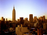 Empire State Building Towers over the New York City Skyline Photographic Print by Rex Stucky