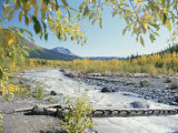 Scenic View of McCarthy Creek in McCarthy, Alaska Photographic Print by George Herben