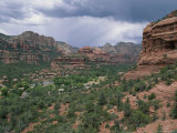 Thunderstorm Forms Above Boynton Canyon Near Sedona Photographic Print by Rich Reid
