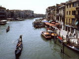 Grand Canal As Seen From the Rialto Bridge Photographic Print by Rex Stucky