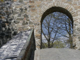 Rampart with Tiled Cap at Castle Fortress Akershus Festning Photographic Print by David Borland