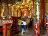 Interior of Kyan Taik Temple Photographic Print by Nicholas Reuss