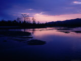 Reu River in Surung Valley at Sunset Photographic Print by Richard I'Anson