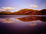 Mt Oberon and Reflections on Norman Beach, Wilsons Promontory National Park Photographic Print by Richard I'Anson
