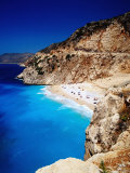Kaputas Cove and Beach Photographic Print by Izzet Keribar