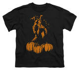 Youth: Batman - Bat Among Pumpkins T-shirts