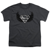 Youth: Superman - Dirty Wings T-shirts