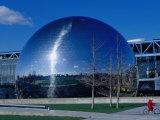 La Geode, Parc De La Villette Photographic Print by Jean-Bernard Carillet