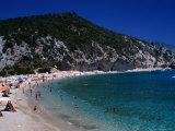 Cala Di Luna on the Golfo Di Orosei Walk Photographic Print by Rocco Fasano
