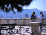 Cagliari Bastione St Remy Photographic Print by Rocco Fasano