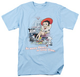 Betty Boop - So Many Shoes T-shirts